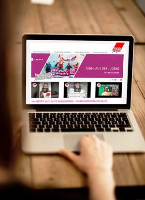 Website – DGB-Haus der Jugend